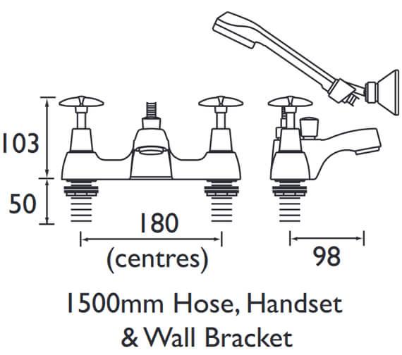 Technical drawing QS-V54015 / VAX BSM C