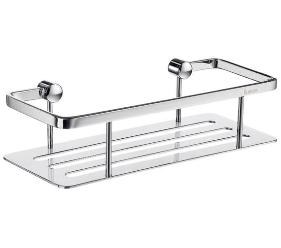 Smedbo Sideline Design Soap Basket Straight 1 Level