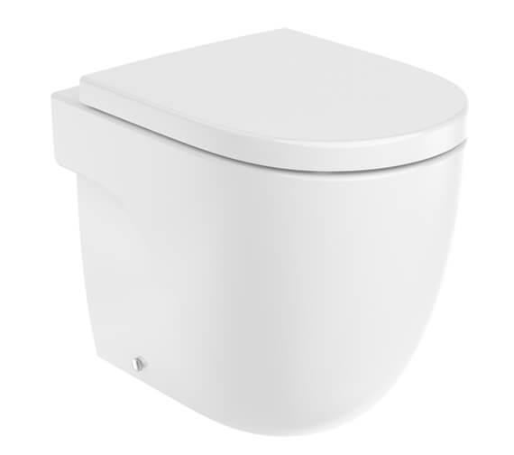 Roca Meridian-N Single Floorstanding Rimless WC With Dual Outlet