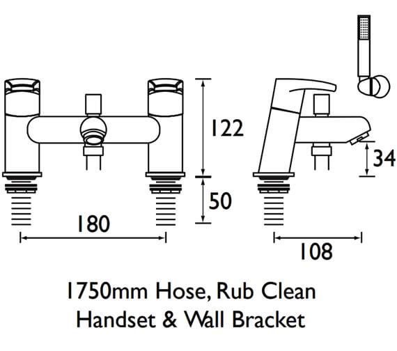 Technical drawing QS-V52084 / OR BSM C