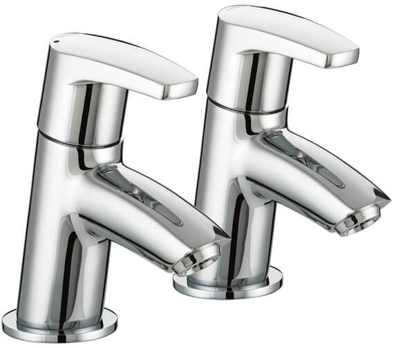 Bristan Orta Chrome Bath Taps