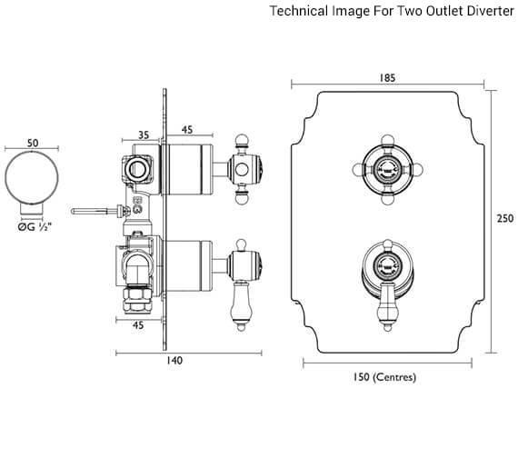 Additional image of Heritage Bathrooms  SGC03