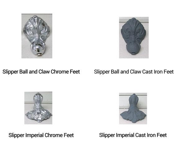 Additional image of Heritage Kent 1550 x 765mm Freestanding Cast Iron Slipper Bath