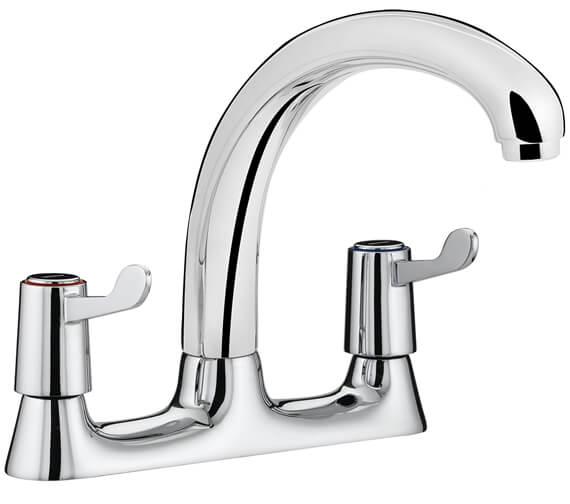 Bristan Value Lever Deck Kitchen Sink Mixer Tap