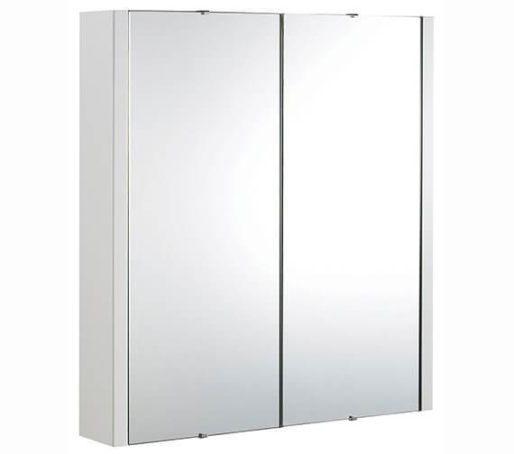Nuie Parade 600mm 2 Door Mirror Cabinet