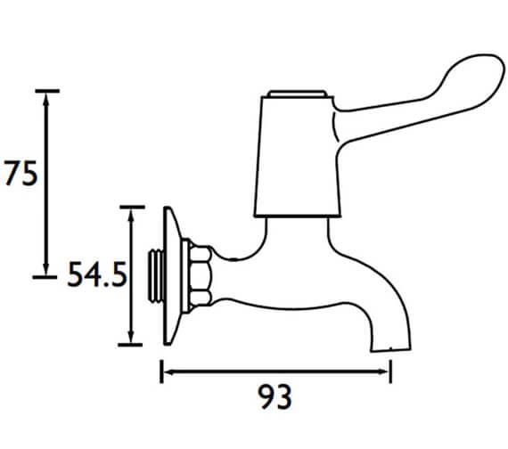 Technical drawing QS-V52316 / VAL BIB C CD