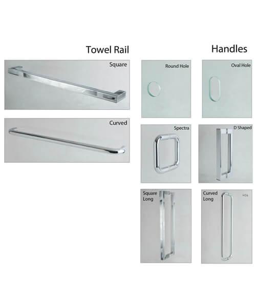 Additional image of Aqata Showers  DS455-760LHH