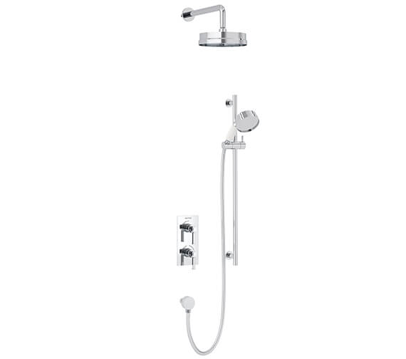 Heritage Somersby Concealed Dual Control Valve With Flexible Kit