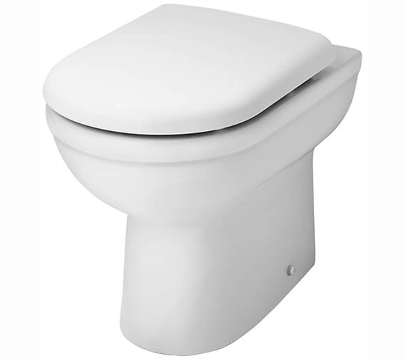 Nuie Premier Ivo Comfort Height 440mm Back-To-Wall WC Pan