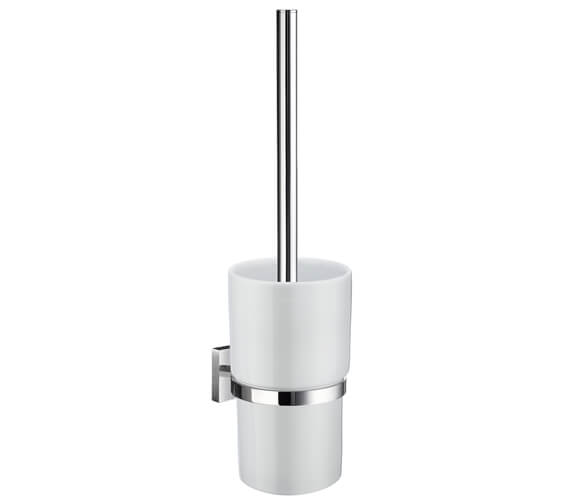 Smedbo House 380mm Height Toilet Brush With Container