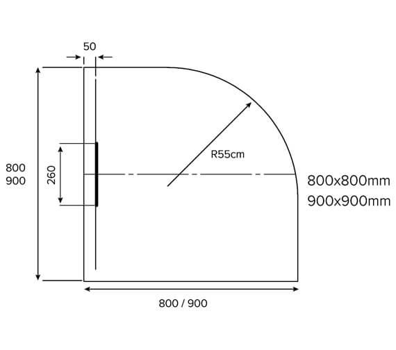 Technical drawing QS-V88999 / EM80Q100