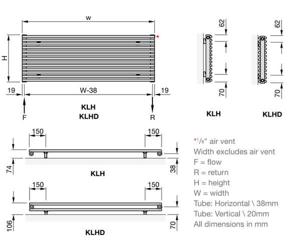 Technical drawing QS-V102661 / KLH-058-100