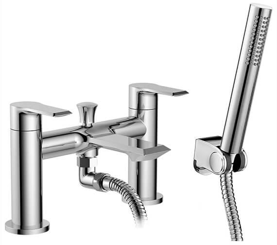 Nuie Limit Bath Shower Mixer Tap With Shower Kit