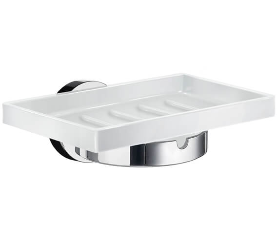 Smedbo Home Chrome Holder With Soap Dish