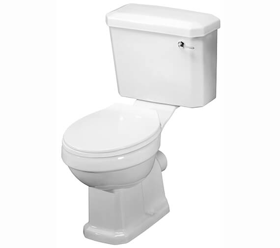 Nuie Carlton Close Coupled Pan Cistern And Seat