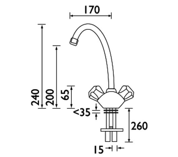Technical drawing QS-V52310 / VAC BSNK C MT