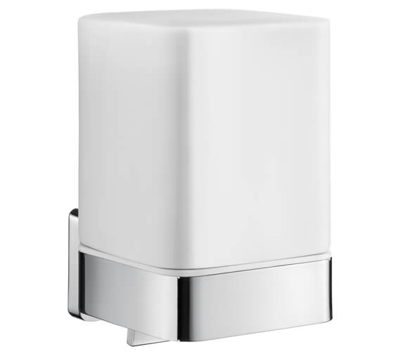 Smedbo Ice Polished Chrome 115mm Height Soap Dispenser With Holder