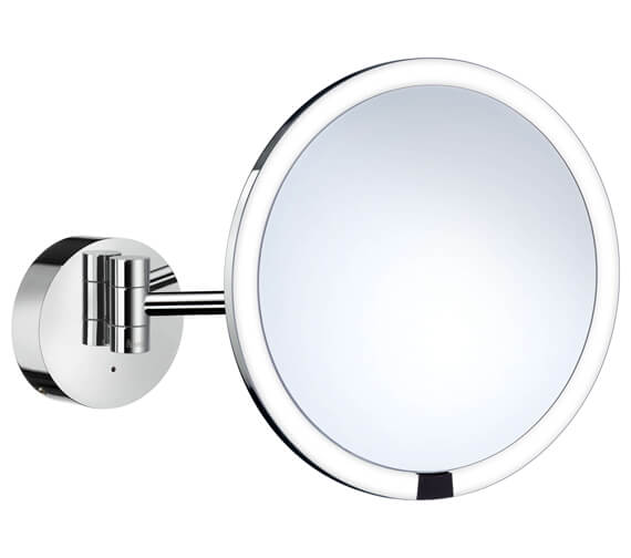 Smedbo Outline Shaving Make-Up Mirror With LED Technology