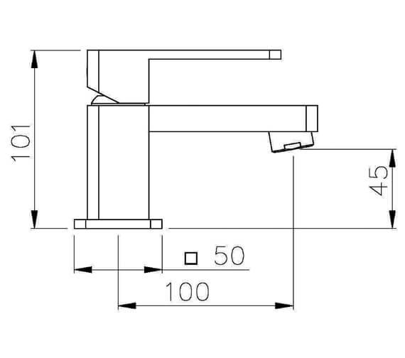 Technical drawing QS-V79738 / AB1250