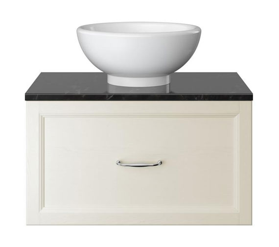 Additional image of Heritage Caversham 700mm Wall Hung Vanity Unit With Basin