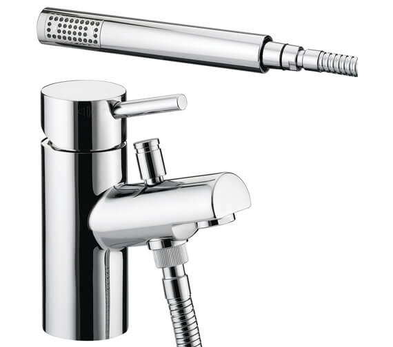 Bristan Prism 1 Hole Bath Shower Mixer Chrome Plated