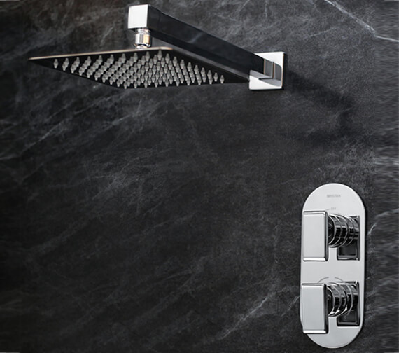 Bristan Pivot Fixed Head Shower Pack