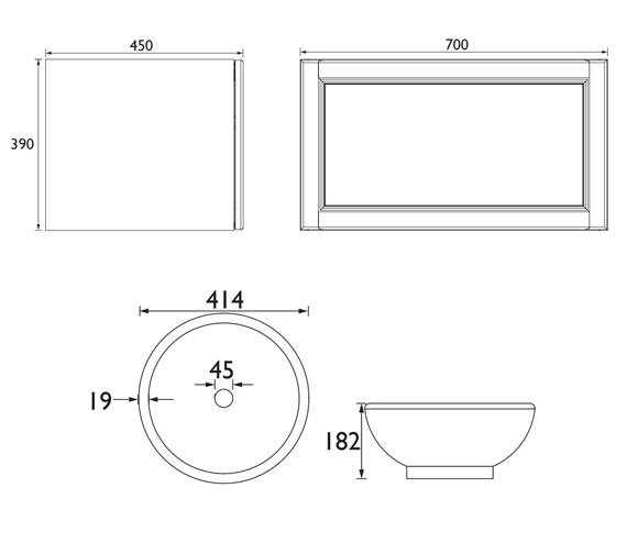 Technical drawing QS-V100773 / WHDGRVAN1D