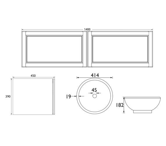 Technical drawing QS-V100774 / WHDGRVAN1D x2
