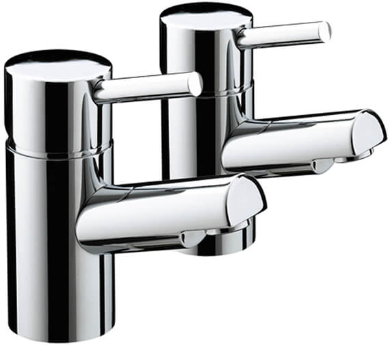 Bristan Prism Chrome Plated Bath Taps Pair