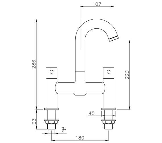 Technical drawing QS-V39384 / AB1185