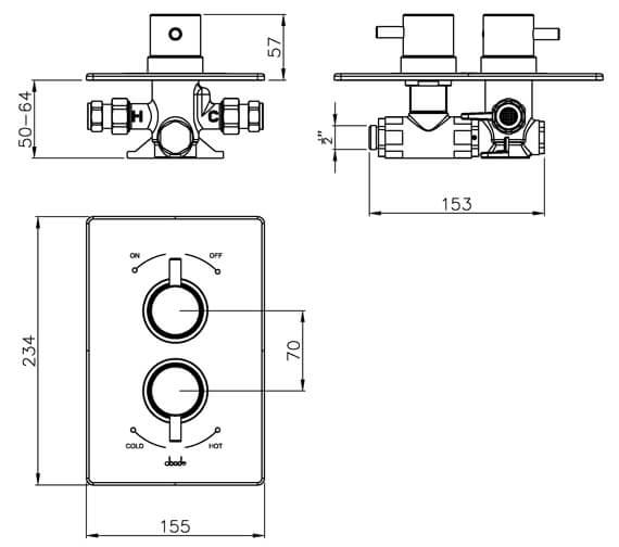 Technical drawing QS-V39394 / AB2202