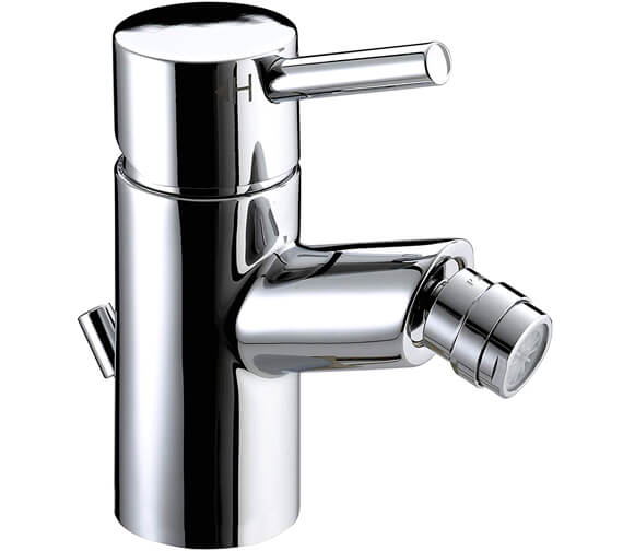 Bristan Prism Bidet Mixer Tap With Pop-Up Waste