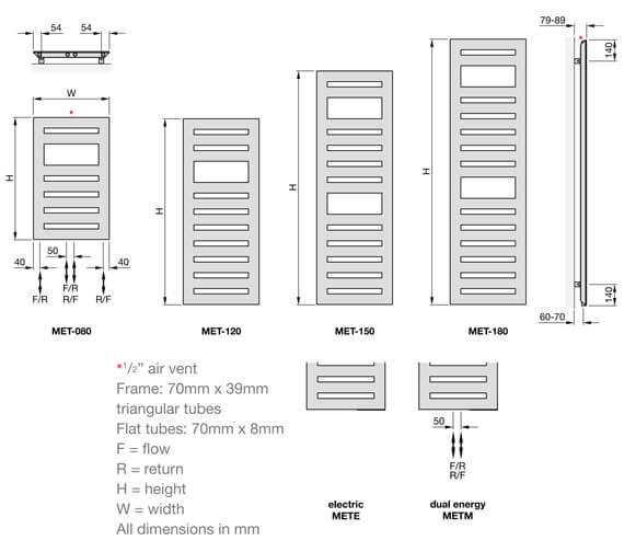 Technical drawing QS-V102671 / MET-080-040