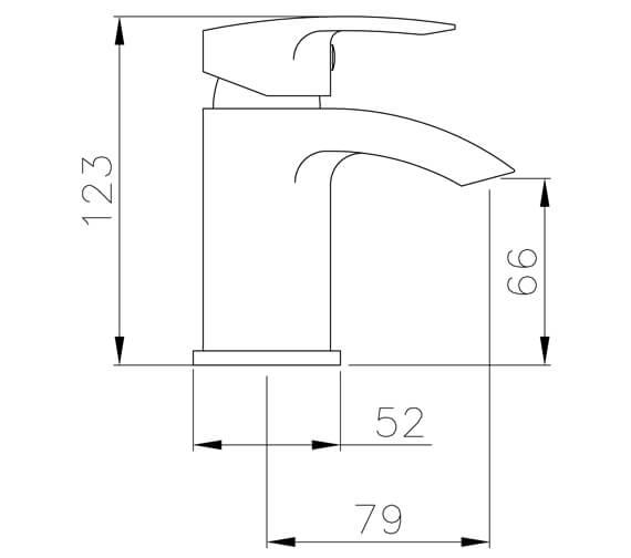 Technical drawing QS-V100327 / AB2660