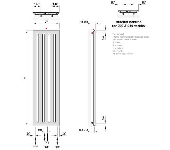 Technical drawing QS-V102673 / MEV-150-030
