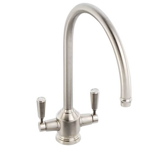 Additional image of Abode Hargrave Deck Mounted Monobloc Kitchen Mixer Tap