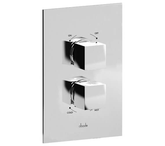 Abode Zeal Chrome Concealed Thermostatic Shower Valve