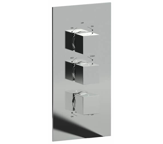 Alternate image of Abode Zeal Chrome Concealed Thermostatic Shower Valve