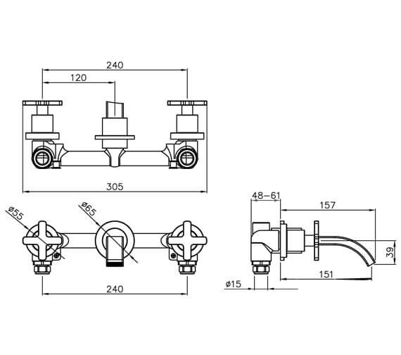 Technical drawing QS-V39231 / AB1067