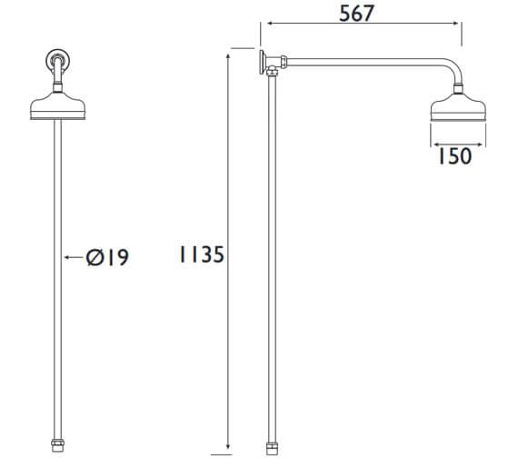 Technical drawing QS-V7756 / TRD RISE C