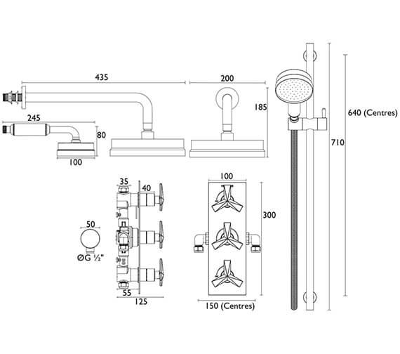 Technical drawing QS-V10362 / SHPDUAL03