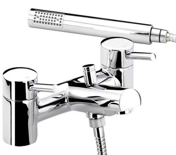 Additional image of Bristan Prism Chrome Plated Bath Shower Mixer Tap