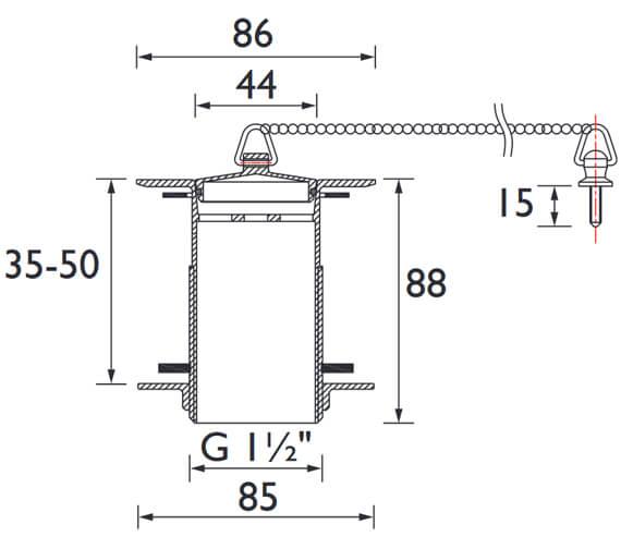 Technical drawing QS-V26102 / W SNK6 C
