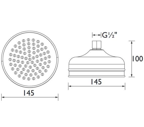 Technical drawing QS-V79176 / FH TDRD01 C