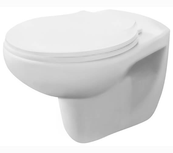 Nuie Premier Melbourne 535mm Wall Hung WC Pan