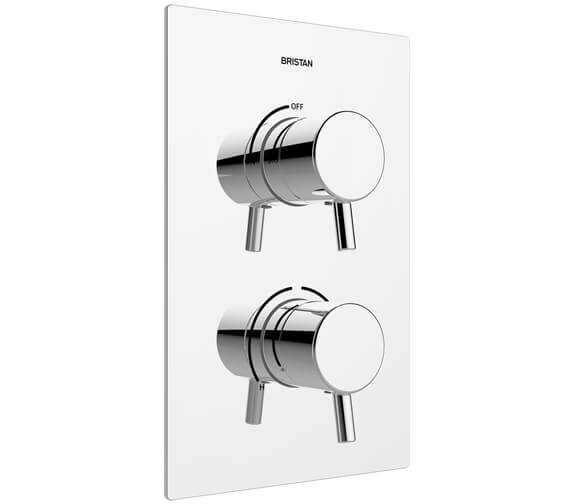 Bristan Prism Recessed Thermostatic Dual Control Shower Valve
