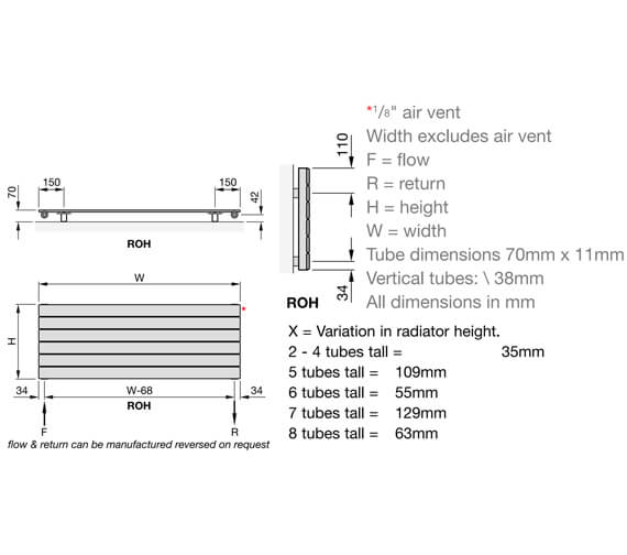 Technical drawing QS-V102680 / ROH-030 60
