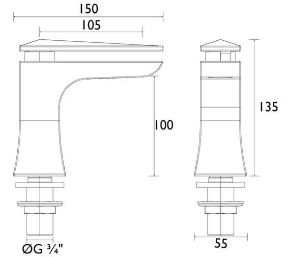 Technical drawing QS-V72667 / THPC01