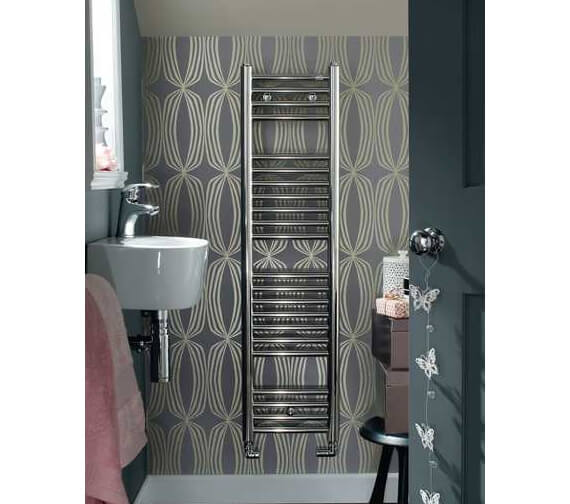 Additional image of Zehnder Klaro Towel Rail
