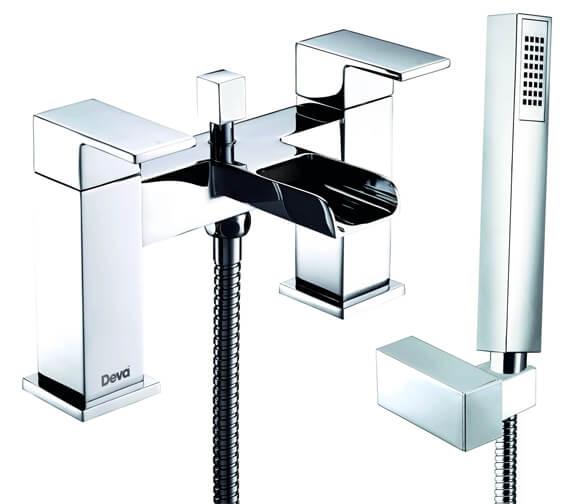 Deva Sparkle MK2 Deck Mounted Bath Shower Mixer With Kit